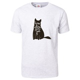 Home is Where Your Cat Is T-Shirt T-shirts
