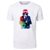 Trooper in Suite Watercolor T-Shirt T-shirts