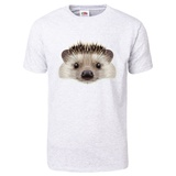 Illustrated Portrait of Hedgehog T-Shirt T-Shirt