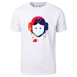 Leia Cartoon Watercolor T-Shirt T-shirts