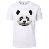 Panda Low Poly Portrait T-Shirt T-Shirt