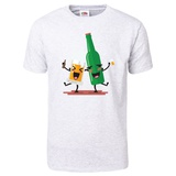 Drunk Beer Glass and Bottle T-Shirt T-Shirt
