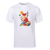 Rainbow Fox T-Shirt T-Shirt