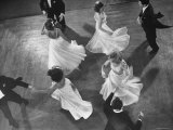 Arthur Murray Dance Instructors Dancing Premium Photographic Print by Gjon Mili