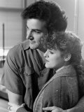 Bernadette Peters and Mandy Patinkin Premium fototryk