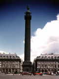Napoleon's Monument in Place Vendome Premium Photographic Print by William Vandivert
