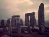 Monument of Stonehenge Premium Photographic Print by Dmitri Kessel