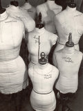 Dressmaker's Forms in Wardrobe Department at 20th Century Fox Premium Photographic Print by Margaret Bourke-White