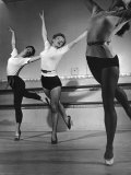 Marilyn Monroe Doing Step in Dance Class Premium Photographic Print by J. R. Eyerman