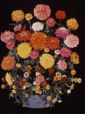 Zinnias and Other Flowers Premium Photographic Print by Eric Schaal