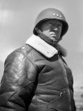 General George S. Patton During World War II Premium Photographic Print