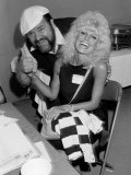 Dom Deluise and Loni Anderson Premium Photographic Print