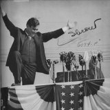 Republican Presidential Candidate Wendell Willkie Campaigning Photographic Print by William C. Shrout
