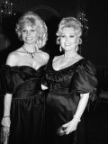Loni Anderson and Zsa Zsa Gabor Metal Print