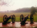 Revolutionary Cannons at Valley Forge Premium Photographic Print by Henry Groskinsky