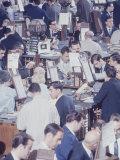 American Stock Exchange Premium Photographic Print by Bob Gomel