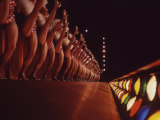 Radio City Rockettes Premium Photographic Print by Art Rickerby