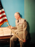 Gen. Dwight D. Eisenhower in Uniform Premium Photographic Print by Francis Miller