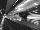 Passenger Train in Motion Photographic Print by Alfred Eisenstaedt