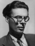 Portrait of British Author Aldous Huxley Premium Photographic Print by Howard Coster