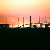 US Steel Plant Photographic Print by John Zimmerman