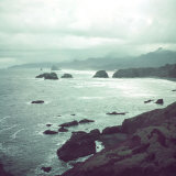 Pacific Ocean Along the Coast of Oregon Photographic Print by Eliot Elisofon