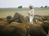 King Ranch Premium Photographic Print by Eliot Elisofon