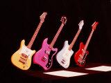 Electric Guitars Premium Photographic Print by Yale Joel