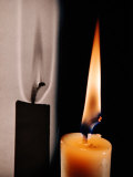 Candle Light Premium Photographic Print by Herbert Gehr