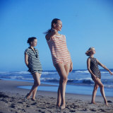 Beach Fashions Photographic Print by Gordon Parks