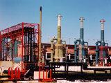 Gulf Coast Chemical Industry Essay Premium Photographic Print by J. R. Eyerman