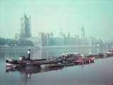 The Parliament Buildings Along the Thames Premium Photographic Print by William Sumits