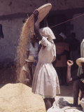 Haitian Woman Premium Photographic Print by Lynn Pelham