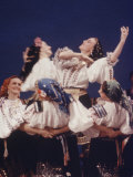 Russian Moiseyev Dancers in New York, Photographic Print