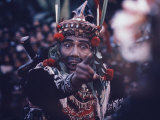 Balinese Male Dancer Premium Photographic Print by Co Rentmeester