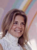 Actress Candice Bergen, 1970 Premium Photographic Print by Michael Mauney
