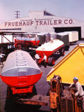 Fruehauf Trailer Company Premium Photographic Print by J. R. Eyerman