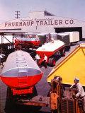 Fruehauf Trailer Company Premium Photographic Print by J. R. Eyerman