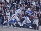 Baltimore Colts Football Player Jimmy Orr in Action Premium Photographic Print by Art Rickerby
