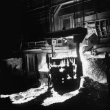Manufacturing Steel Photographic Print by Fritz Goro