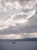Bonneville Hot Rod Meet at the Bonneville Salt Flats in Utah Photographic Print by J. R. Eyerman