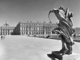 View across the Grounds of the Versailles, Where the Royalty Resides Premium Photographic Print by Hans Wild