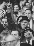 Actor Jason Robards at a Giants Game Premium Photographic Print by Bill Eppridge
