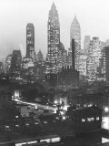 Manhattan Skyline Photographic Print by Andreas Feininger