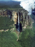 Aerial of Angel Falls Premium Photographic Print by Carl Mydans