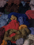 Bundles of Yarn by Textile Designer Dorothy Liebes Photographic Print by Charles E. Steinheimer