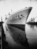 SS Oriana New Ship Passenger Liner Maiden Voyage in Pacific Ocean Premium Photographic Print by Ralph Crane
