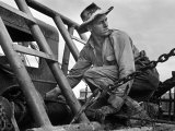 Oil Field Worker Premium Photographic Print by Carl Mydans
