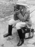 Young Man with a Brownie Camera Premium Photographic Print by Alfred Eisenstaedt