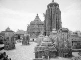 Great Temple at Bhubeneswar, Called Lingaraj Premium Photographic Print by Eliot Elisofon